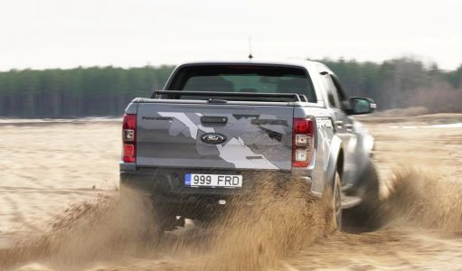 Ford Ranger Raptor - Motors24.ee proovisõit